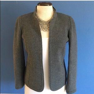 Talbots Gray Wool Blazer